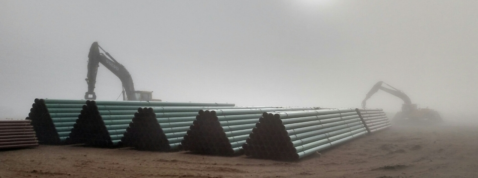 Pipe Yard in Colorado